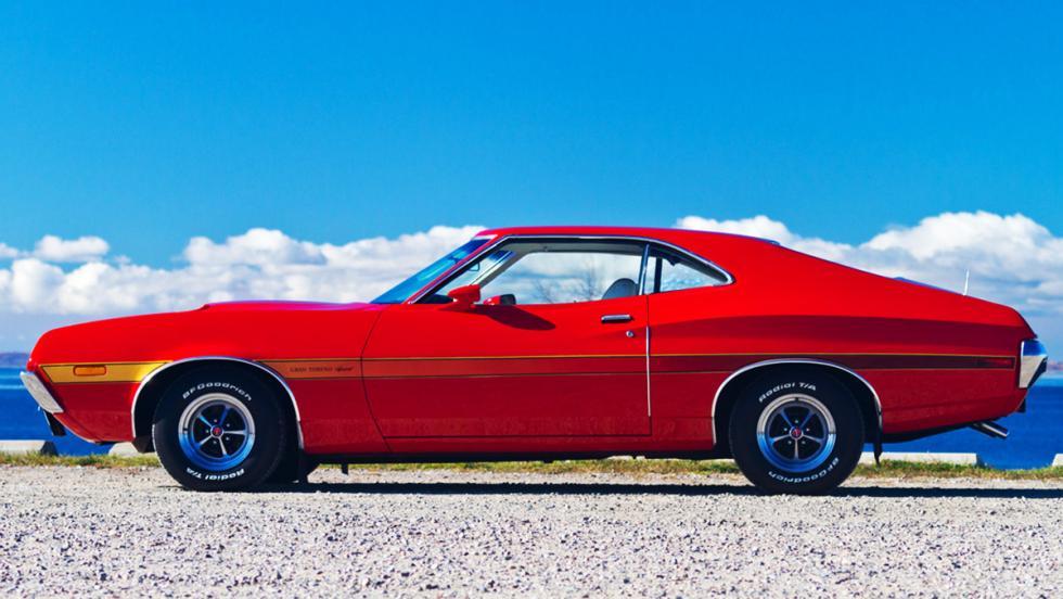 La historia del Ford Gran Torino - Llegó al mercado en 1972