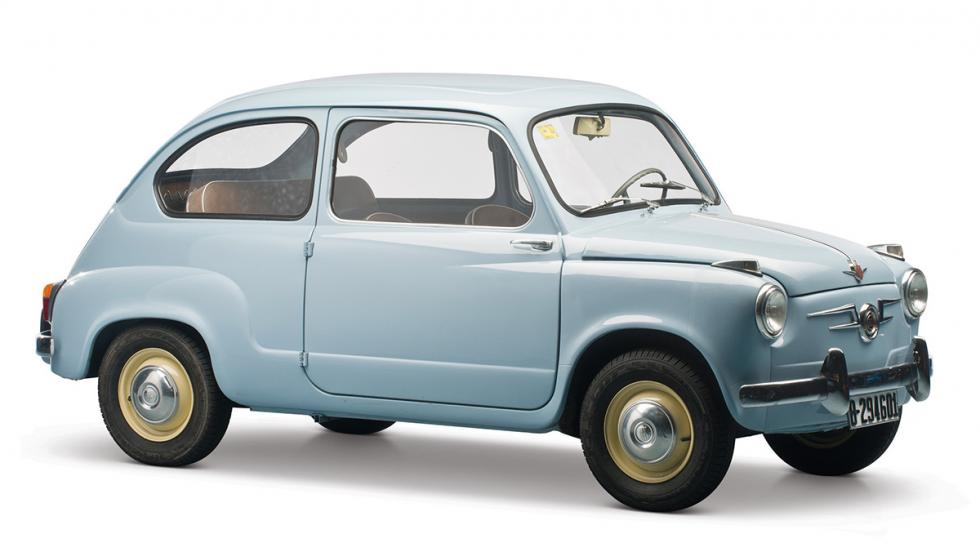 La historia del Seat 600 - En 1960 era 100% español