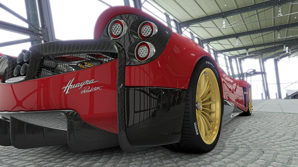 El impresionante configurador del Pagani Huayra Roadster
