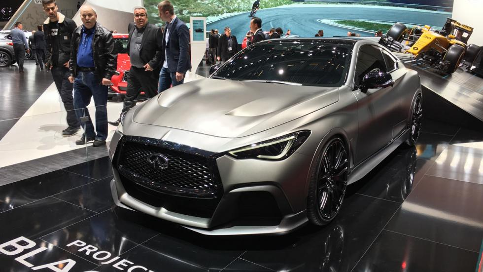 Infiniti Project Black S Salon de Ginebra 2017