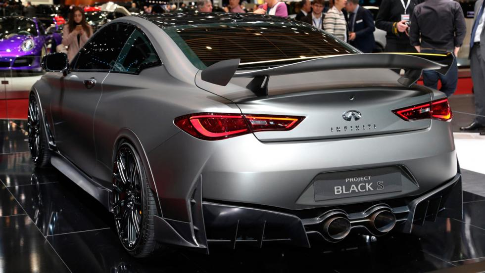 Infiniti Q60 Project Black S (trasera)