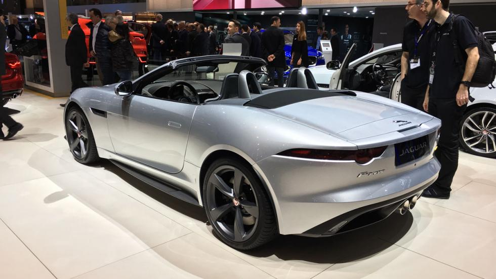 Jaguar F-Type Sport 400 Salón de Ginebra 2017
