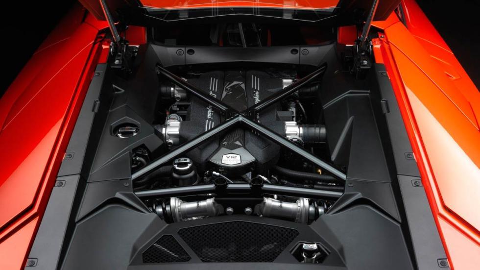 Lamborghini Aventador motor atmosférico