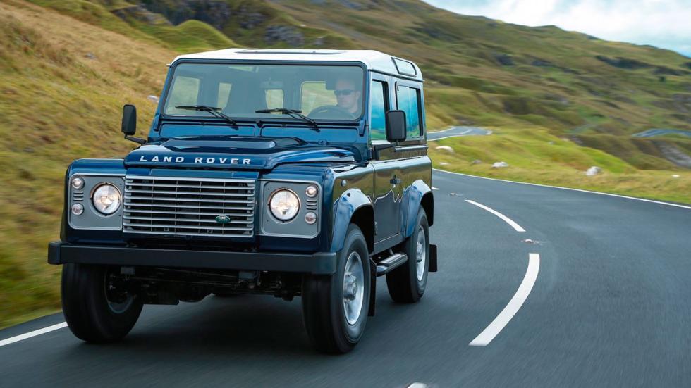 Land Rover Defender robusto