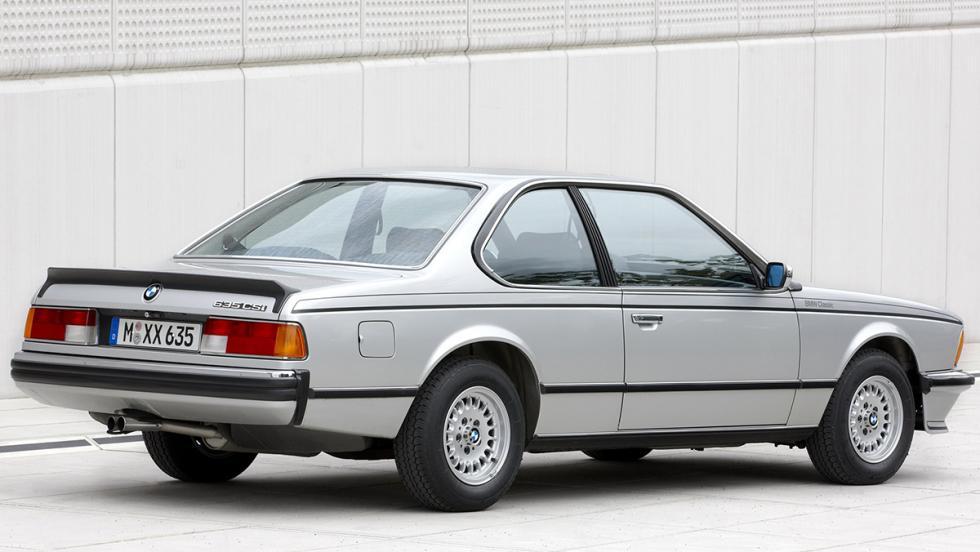 Los mejores BMW de la Historia - BMW 635 CSi