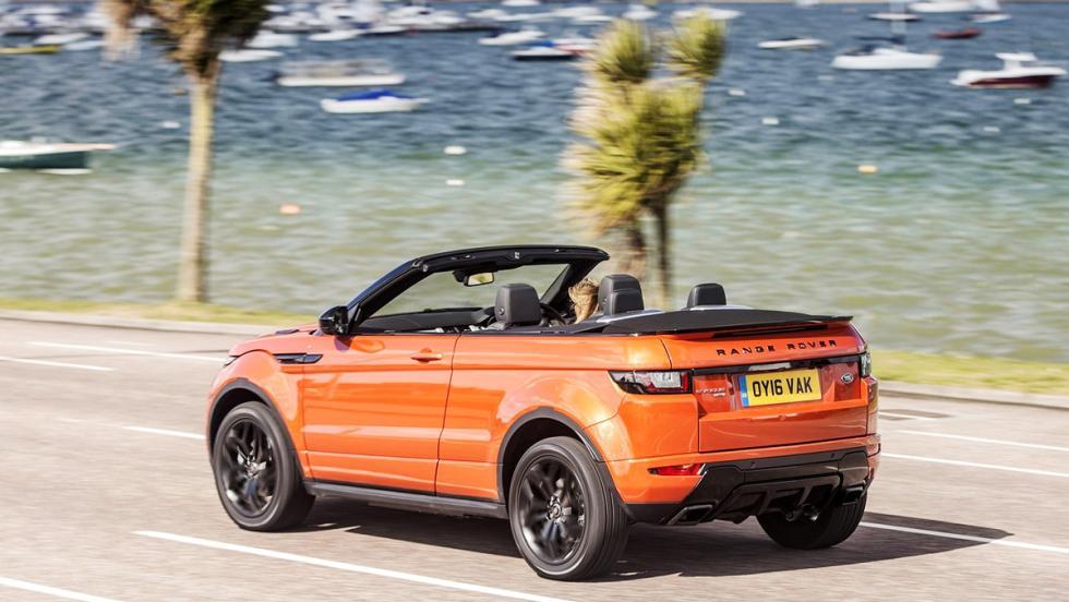 Los mejores coches para disfrutar de la primavera - Range Rover Convertible