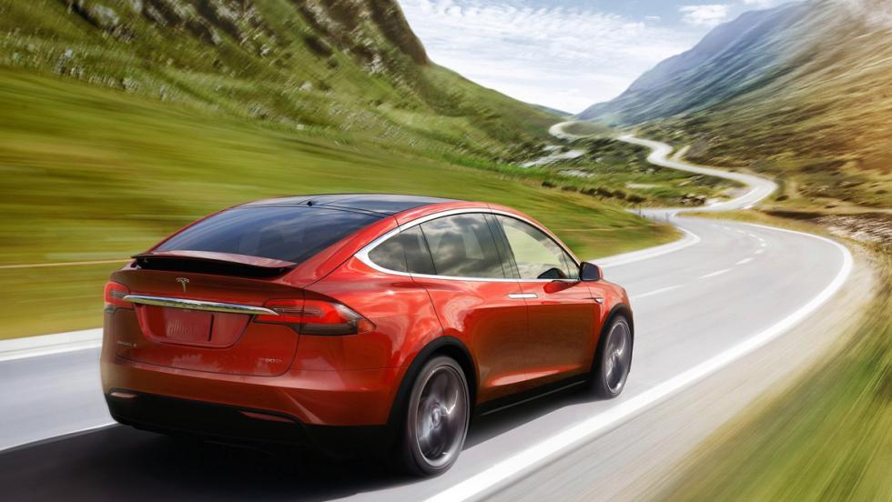 Los mejores coches para disfrutar de la primavera - Tesla Model X