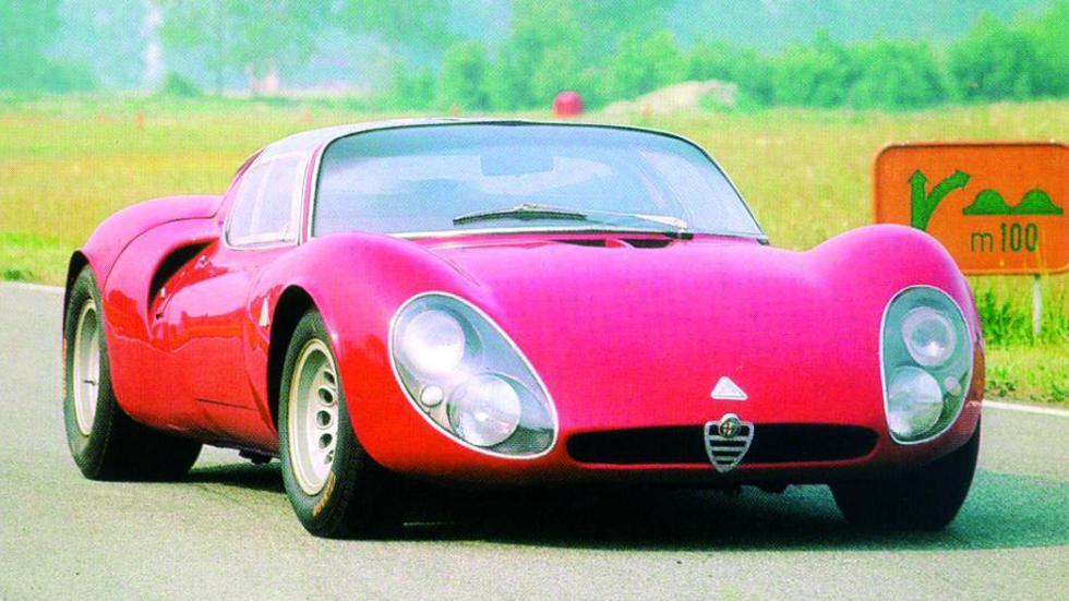 Mejores coches homologados: Alfa Romeo 33 Stradale