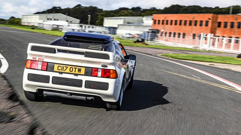 Mejores coches homologados: Ford RS200