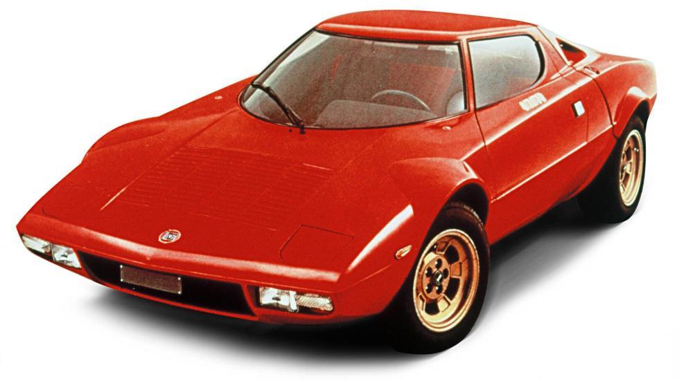 Mejores coches homologados: Lancia Stratos