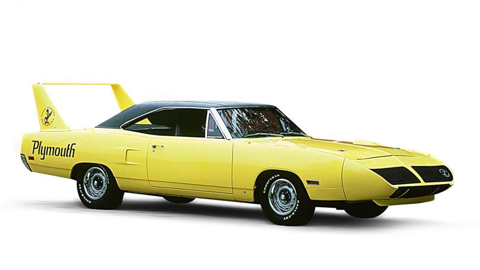 Mejores coches homologados: Plymouth Superbird