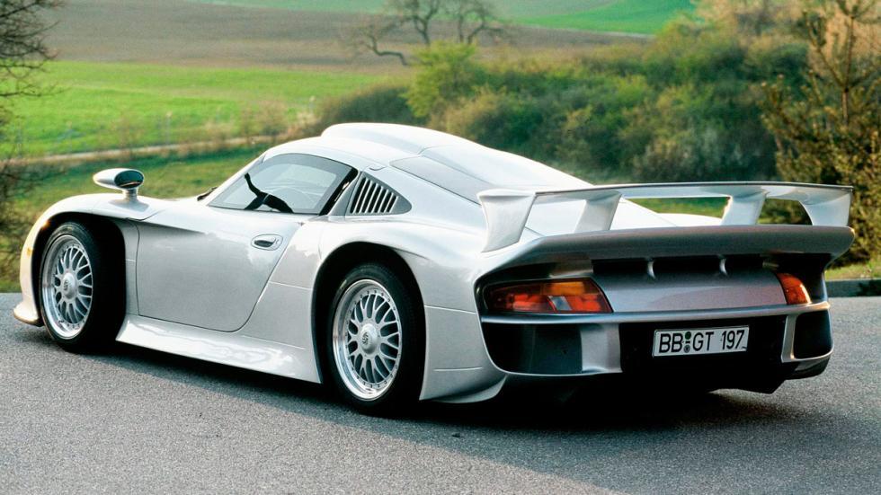 Mejores coches homologados: Porsche 911 GT1