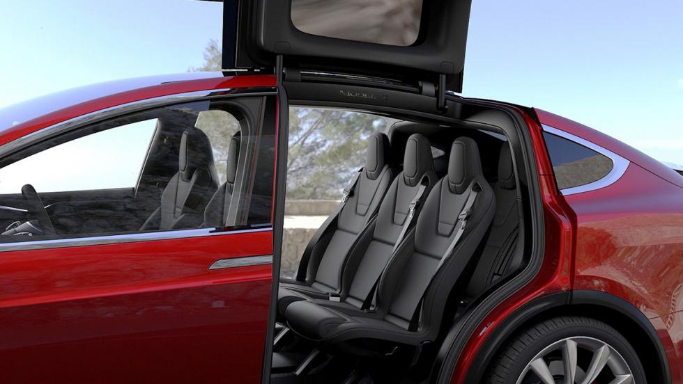 Los mejores coches de siete plazas que puedes comprar  - Tesla Model X
