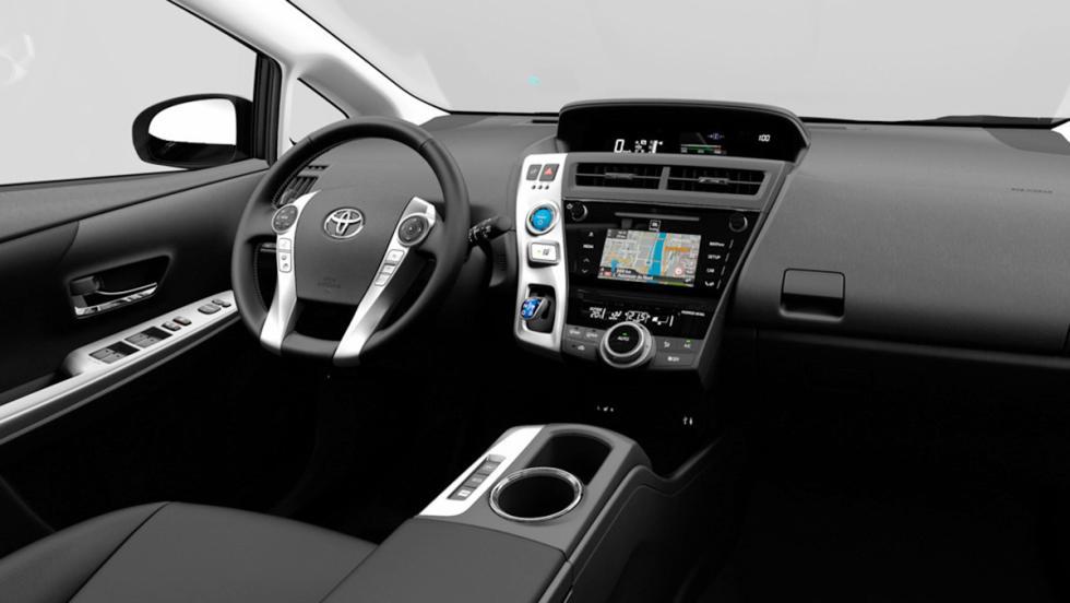 Los mejores coches de siete plazas que puedes comprar - Toyota Prius+