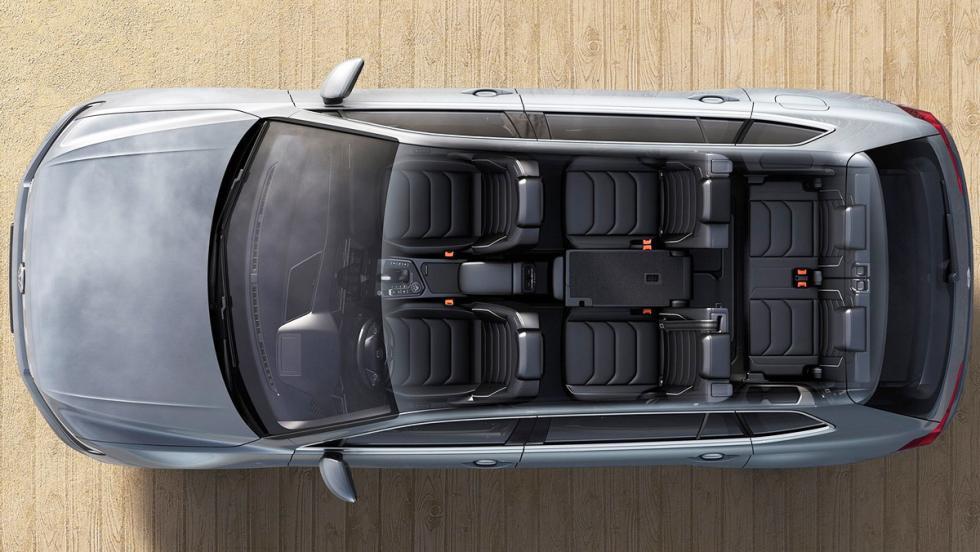 Los mejores coches de siete plazas que puedes comprar - Volkswagen Tiguan Allspace