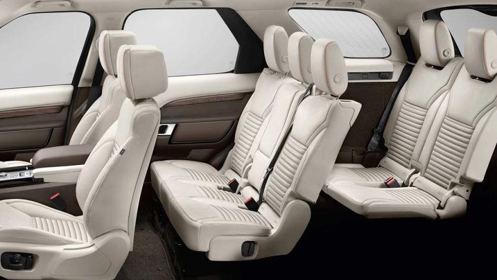 Los mejores coches de siete plazas que puedes comprar - Land Rover Discovery