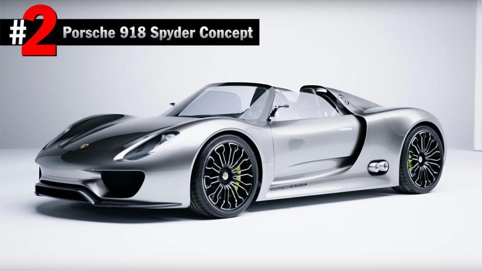 Mejores prototipos Porsche 918 Spyder concept