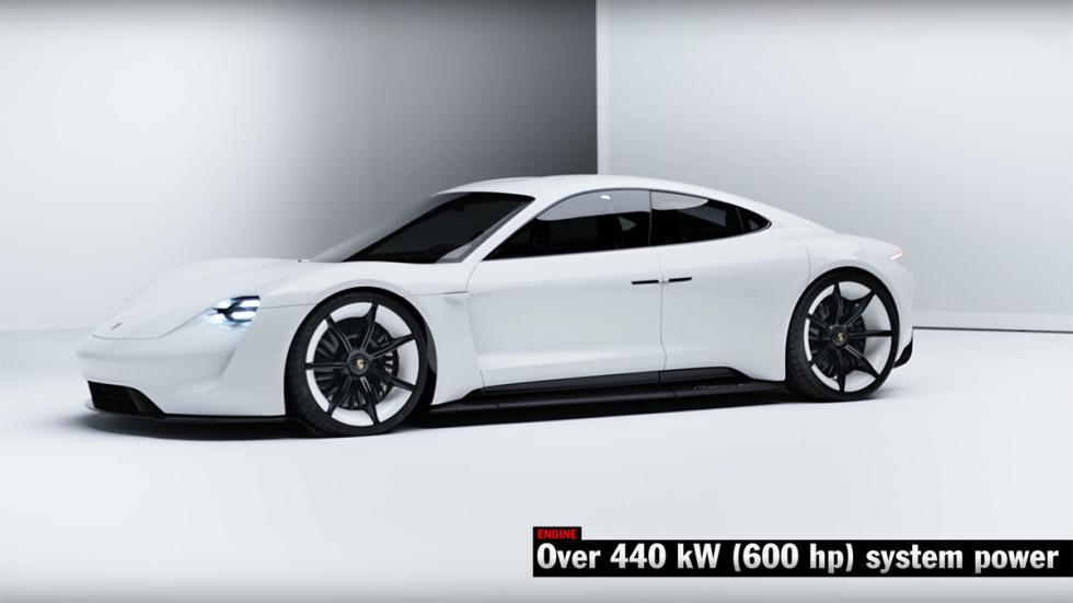 Mejores prototipos Porsche Mission E