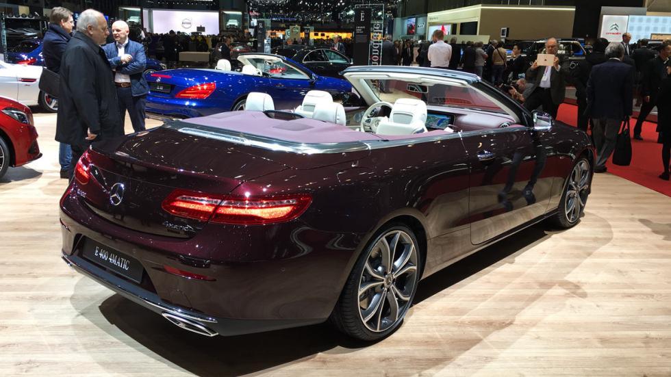 Mercedes Clase E Cabrio 2017 Salón de Ginebra