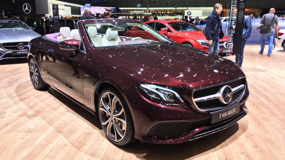 Mercedes Clase E cabrio Salón de Ginebra 2017