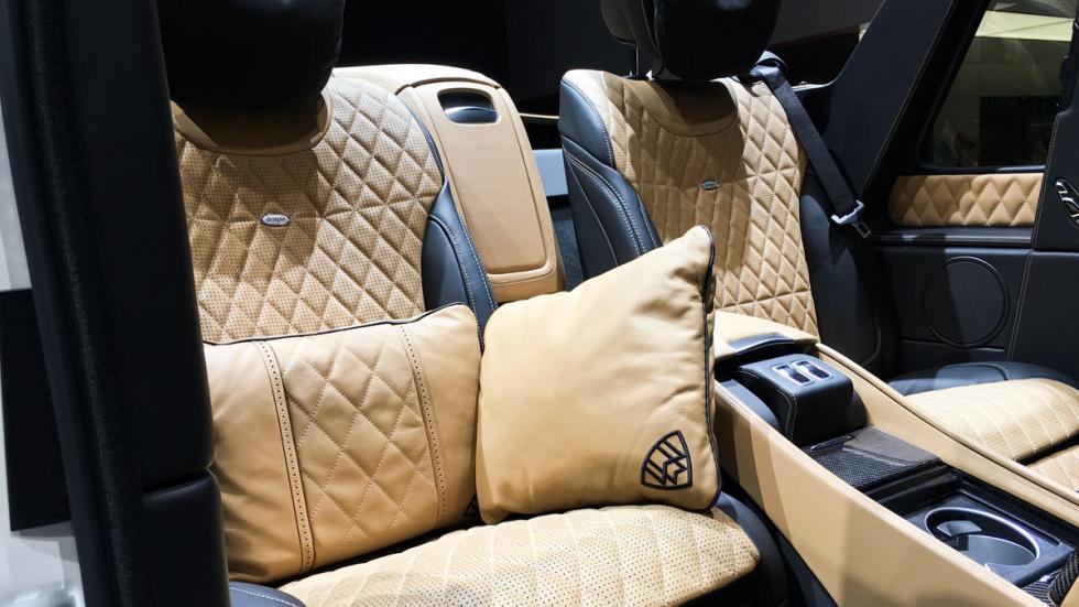 Mercedes-Maybach G650 Landaulet Salón de Ginebra 2017
