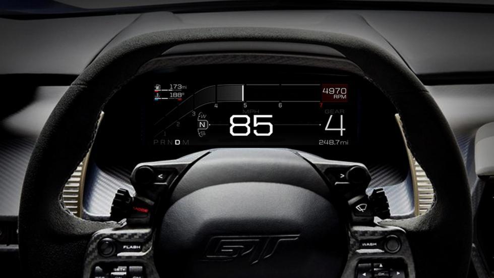 Modos de conducción Ford GT (II)