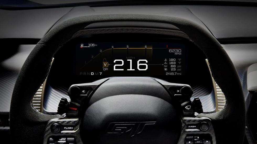 Modos de conducción Ford GT (VI)