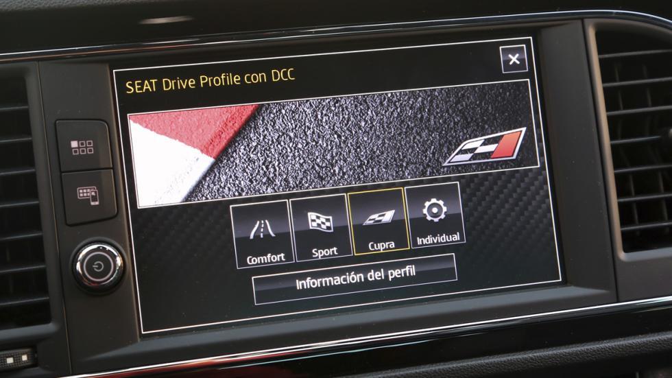 Los modos de conducción del Seat León Cupra