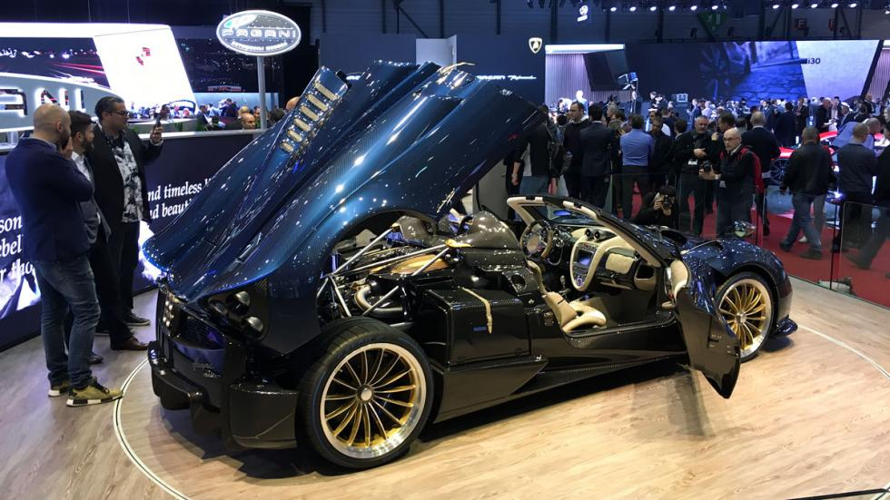 Pagani Huayra Roadster Salón de Ginebra 2017