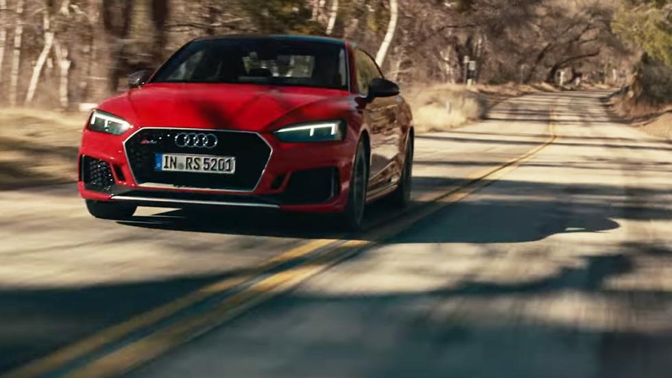 La película de Audi para promocionar al RS5 2017