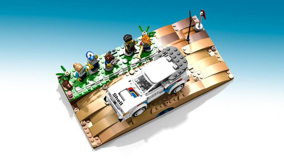 Peugeot 205 T16 de Lego
