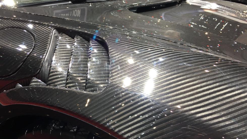 Porsche 911 fibra de carbono Top Car macarradas Ginebra