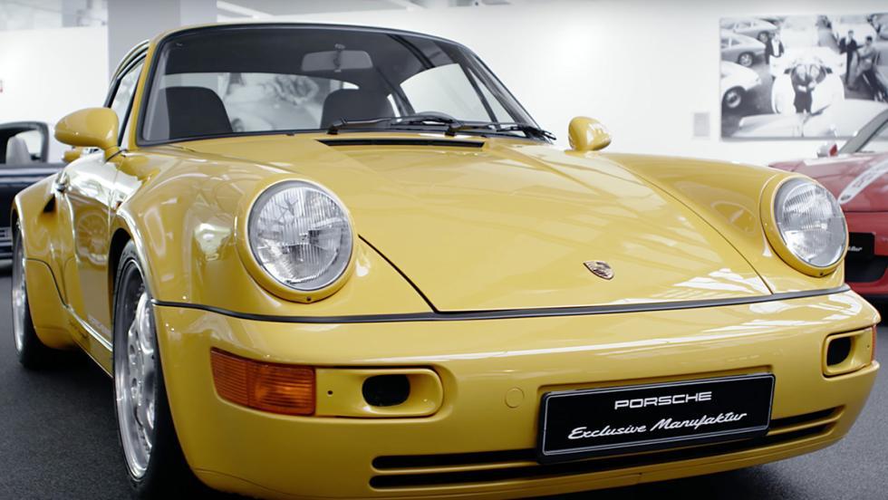 Los Porsche más especiales de la Historia - Porsche 911 964 Turbo S
