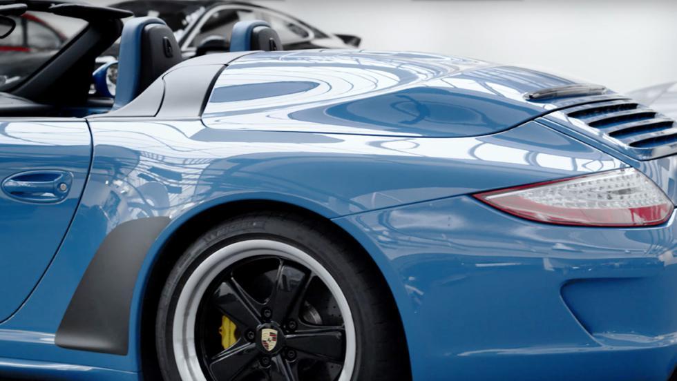Los Porsche más especiales de la Historia - Porsche 911 997 Speedster