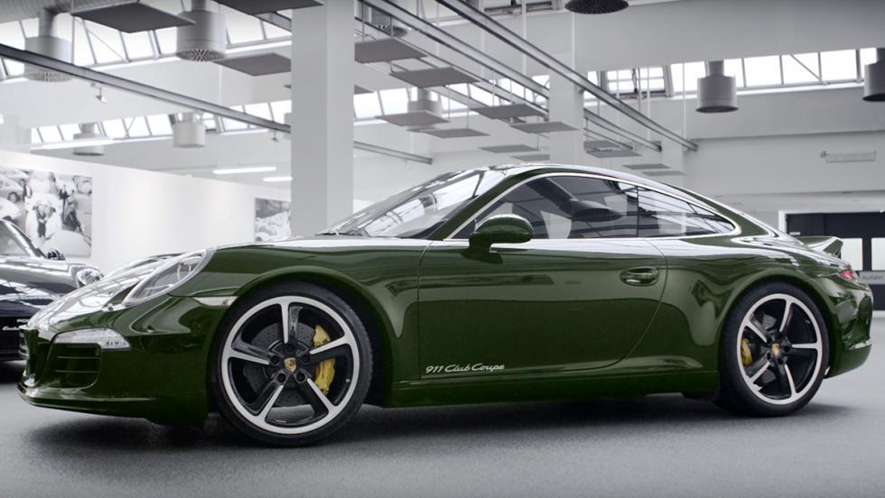 Los Porsche más especiales de la Historia - Porsche 911 Club Coupe