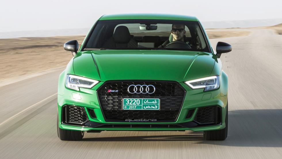 Prueba del Audi RS3 Sedan 2017