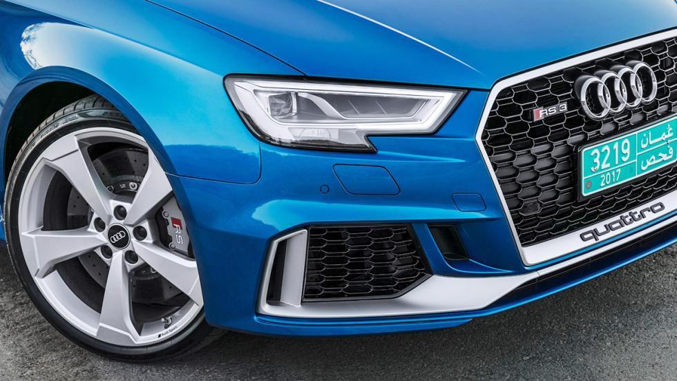Prueba del Audi RS3 Sportback 2017