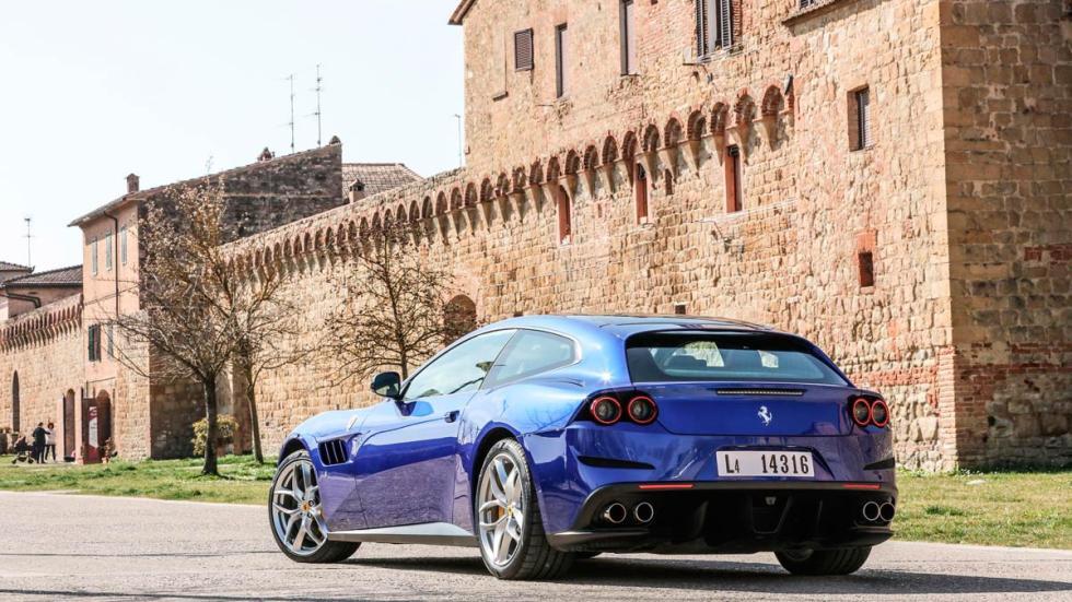 Prueba Ferrari GTC4Lusso T