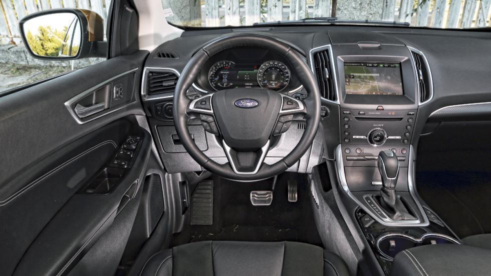 Prueba: Ford Edge Sport (VI)
