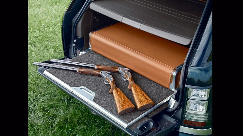Range Rover Holland and Holland pistola armado