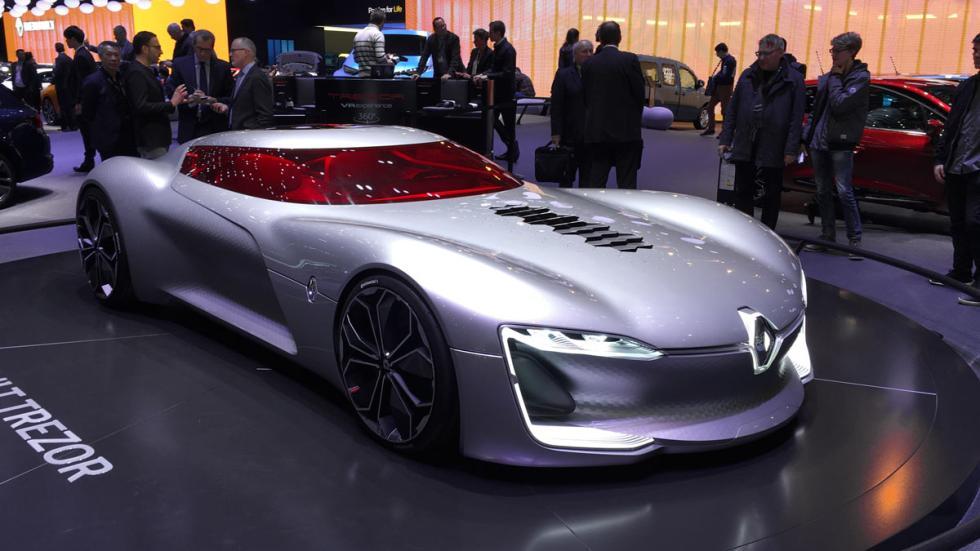 Renault Trezor Salón de Ginebra 2017