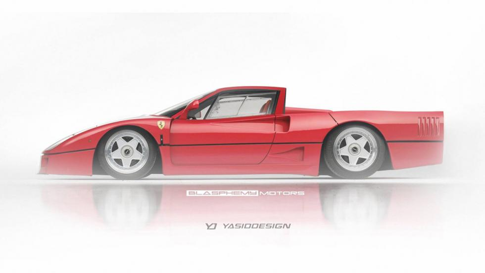 Renders Pick-up: Ferrari F40