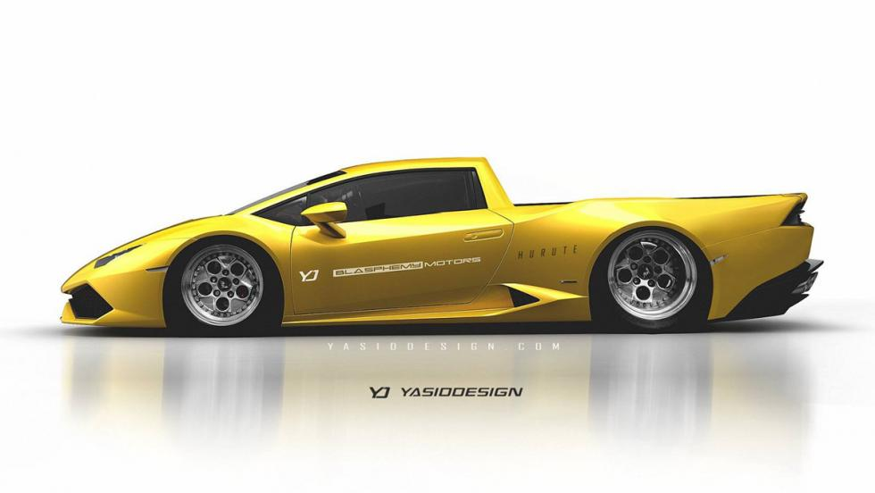 Renders Pick-up: Lamborghini Huracán