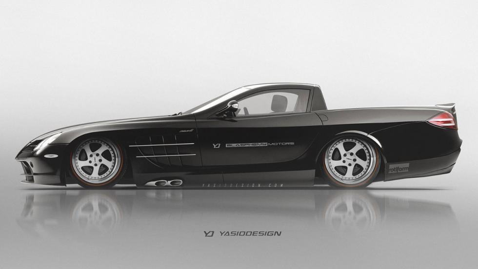 Renders Pick-up: Mercedes SLR