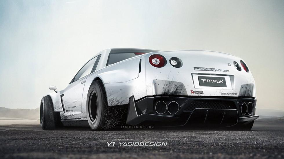 Renders Pick-up: Nissan GT-R