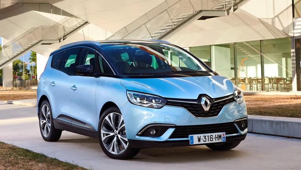 Los rivales del Kuga 2017 más locos que puedes encontrar - Renault Grand Scénic