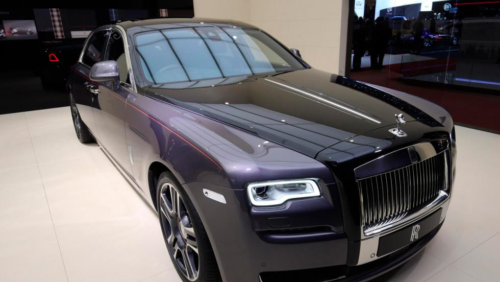 Rolls-Royce Ghost one off