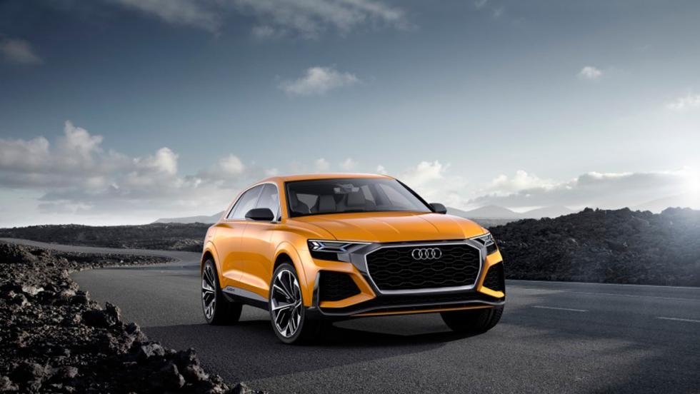 Salón de Ginebra 2017: Audi Q8 sport concept (I)
