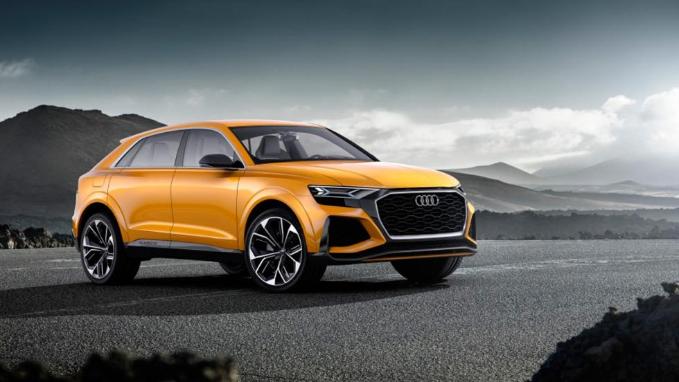 Salón de Ginebra 2017: Audi Q8 sport concept (II)