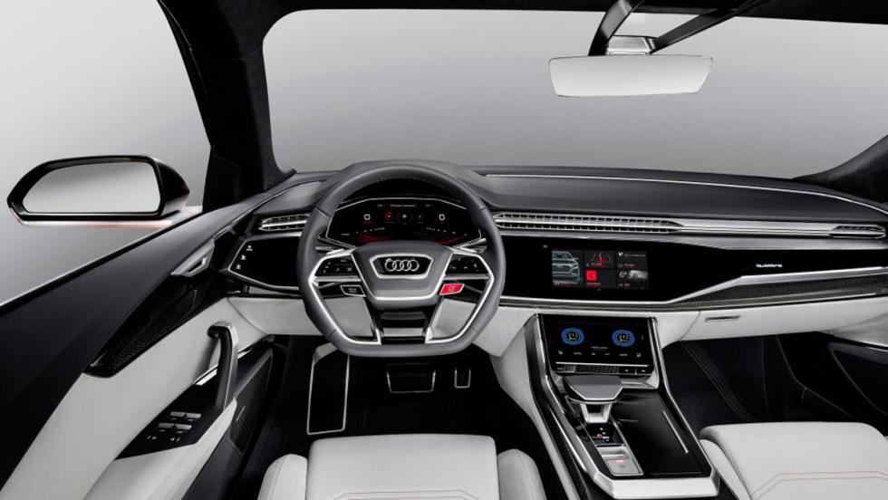Salón de Ginebra 2017: Audi Q8 sport concept (V)